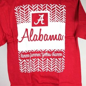Shirts - Alabama Crimson Tide Herringbone T-Shirt